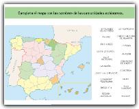 LA ORGANIZACIÓN DE ESPAÑA 2: LAS COMUNIDADES AUTÓNOMAS