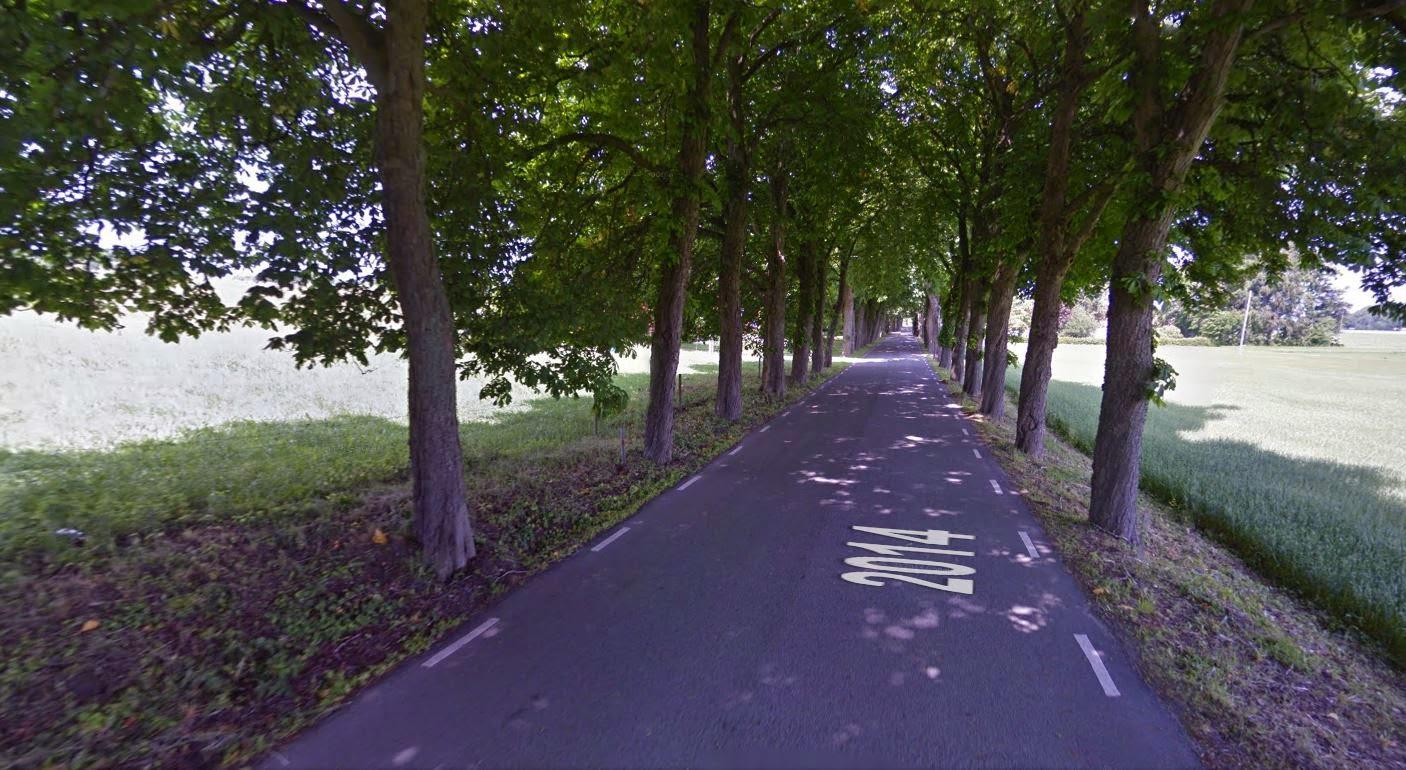 Una strada così carina :-)
