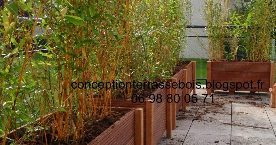 Conception d39une terrasse en bois amenagement de balcon for M bel h ffner küchen