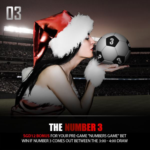 The Dafabet Christmas Countdown 2012 Promo on Facebook 2012