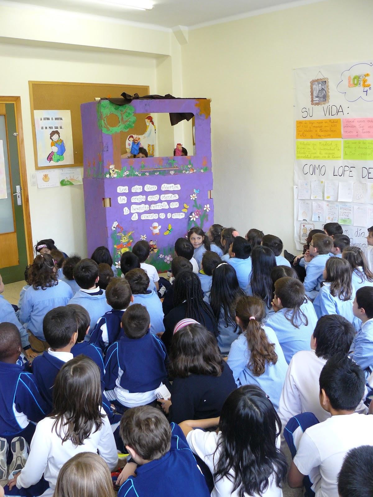 Colegio amor de dios burlada marionetas para primaria - Colegio amor de dios oviedo ...