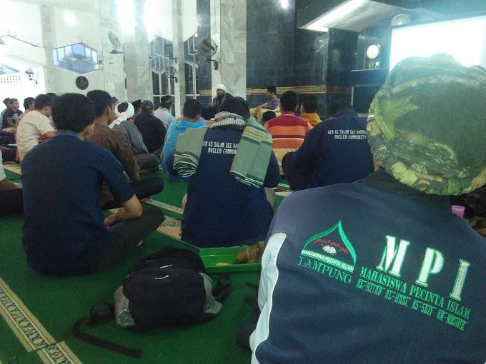 Mabit dan kuliah shubuh MPI Lampung