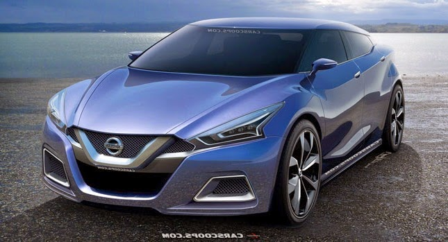 2015 nissan maxima blue concept 2015 nissan maxima concept orange 2015