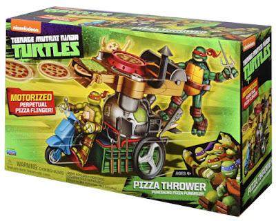 TOYS : JUGUETES - TMNT Tortugas Ninja  Pizza Thrower : Vehículo  Teenage Mutant Ninja Turtles  2015 | Serie Television Nickelodeon  SpinMaste - Giochi Preziosi 94432 | A partir de 4 años  Comprar en Amazon España & buy Amazon USA