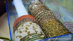 MY BANGLES COLLECTION!!! :)