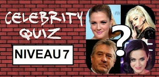 Celebrity Quiz reponse niveau 7