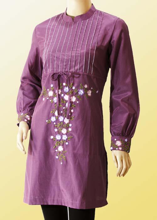 Zona666 Trend Model Baju Gamis Muslim Terbaru 2013