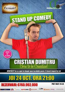 stand-up comedy barlad cu Cristian Dumitru