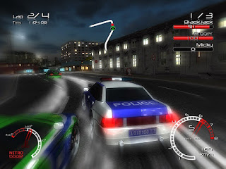 racers vs police setup