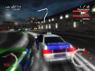racers vs police setup