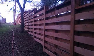 Деревянный забор. Фото 72