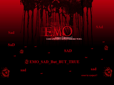 Red emo wallpapers