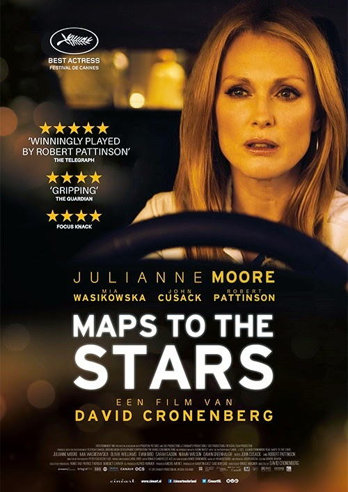 Maps to the Stars (2014) Poster