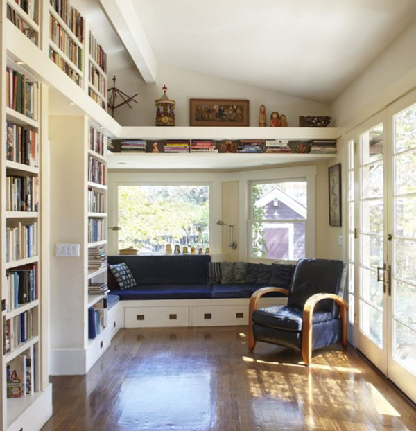 35 most comprehensive and efficient home office and for Home library ideas design