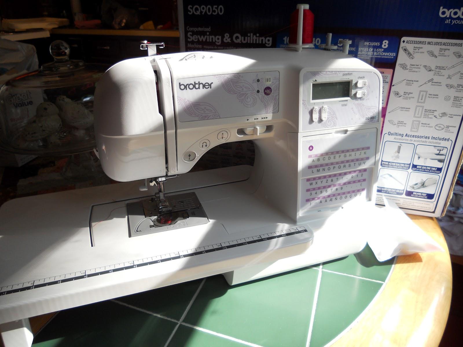 sewing machine sq9050