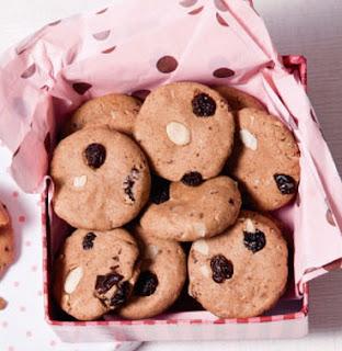 Cookies de banana light sem glúten e sem lactose