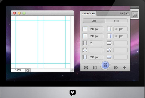 GuideGuide extension for Photoshop