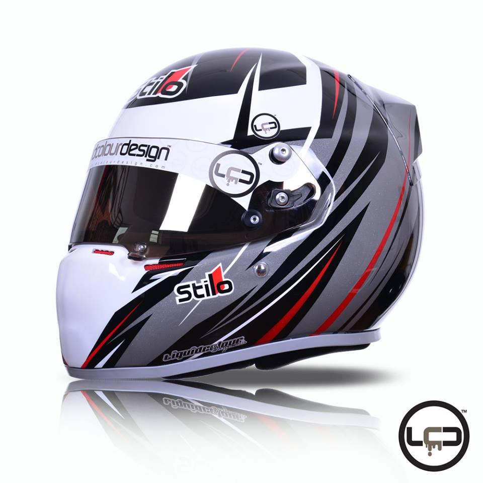 Racing helmets garage stilo st4f n cmr j stanton 2015 by for Bj custom designs
