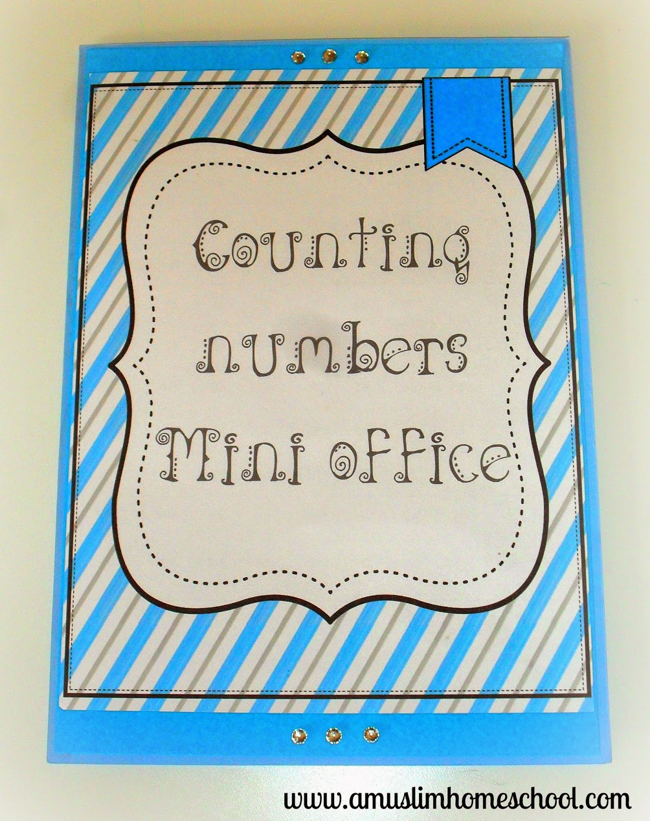 counting and place value mini office