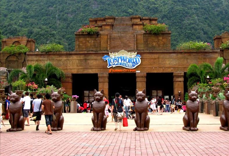 gambar wisata di Ipoh perak lost world of tambun