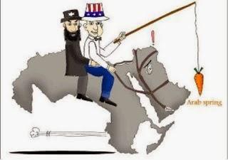 الربيع العربي/ كاريكاتير