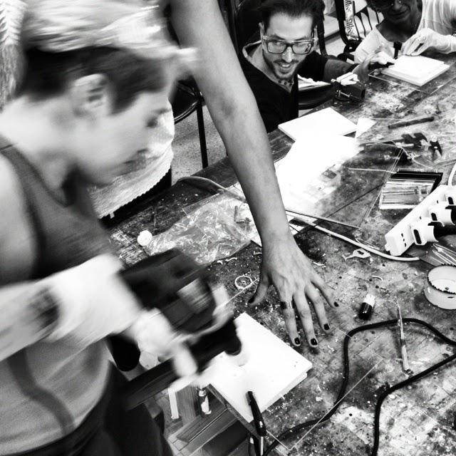 workshop sulle lavorazioni del plexiglass
