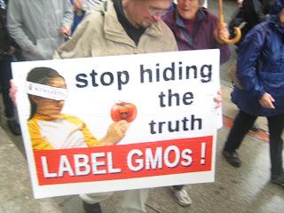 Monsanto, GMO labelling