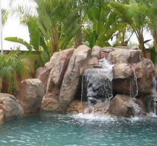 Beaux Mondes Designs: Guest Post: Home Landscaping Why Build Waterfalls In Your Yard By