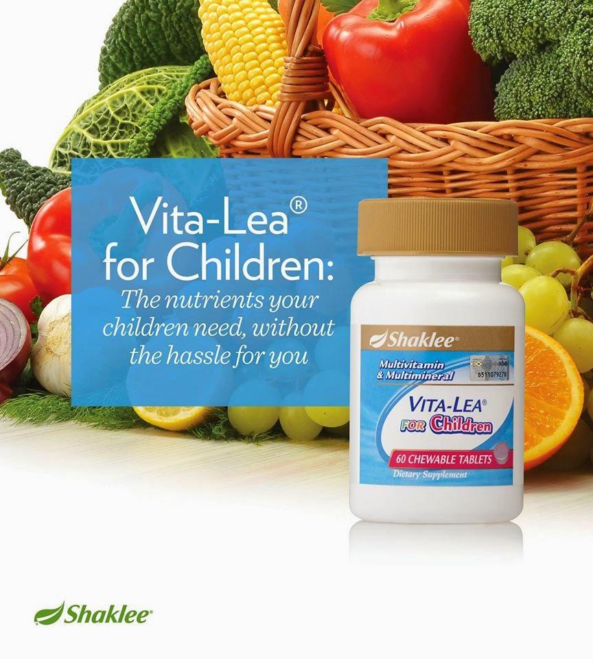 Vitamin Pilihan Terbaik Untuk Kanak-Kanak