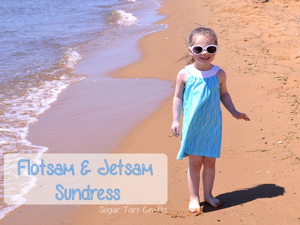 Sundress made with Simplicity pattern #2270