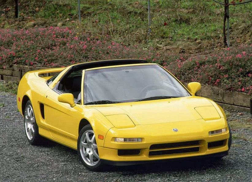 2001 Acura NSX-T Exterior Front Side View