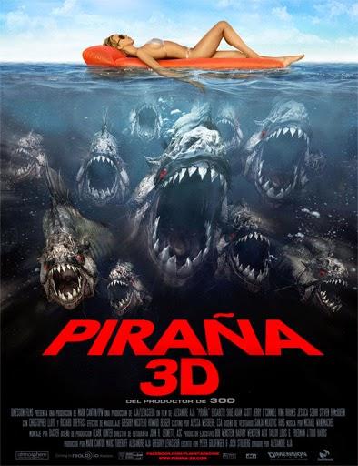 Ver Piraña 3D (Piranha) (2010) Online