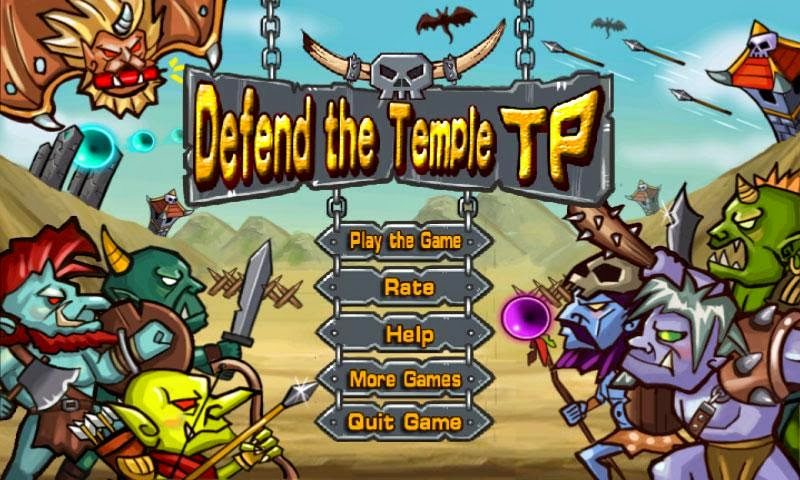 Defend temple Gameplay Android