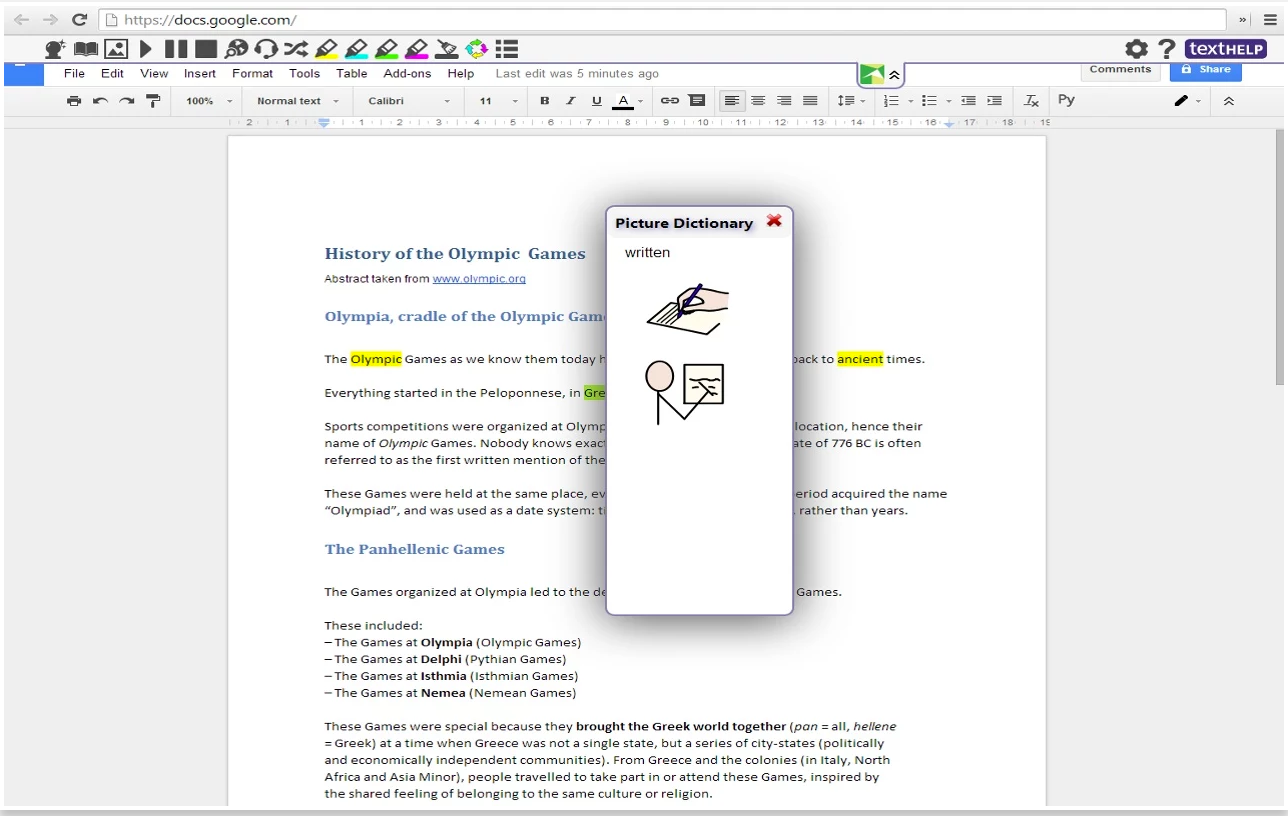 a good google drive tool to enhance students reading and writing it is also a good extension to support students learning difficulties and reading disabilities some of the features of and write include
