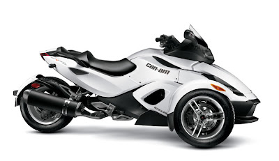 2012 Can-Am Spyder RS White