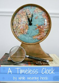 while wearing heels timeless clock tutorial