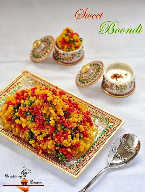Sweet Boondi