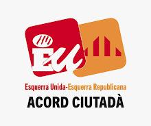 VOTA ESQUERRA UNIDA-ESQUERRA REPUBLICANA: ACORD CIUTADÀ
