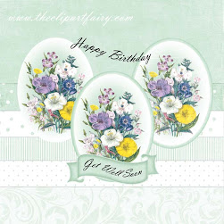 Oval Make Me A Topper KIT - Flowers 3