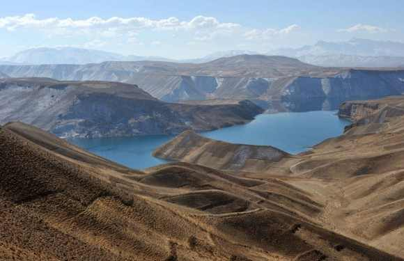 Photos:Lakes lying at the Heart of Afghanistani Rough Mountains