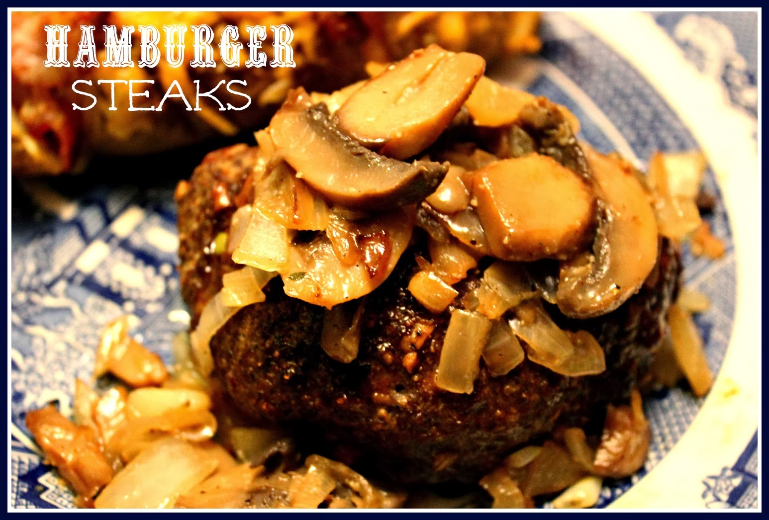how to cook hamburger steak