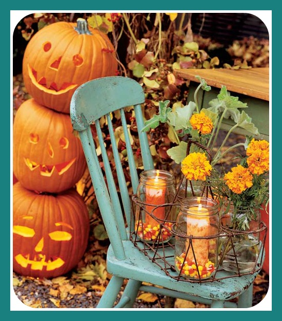 Fall Decorating On The Porch With 42 Inspired Knock Off