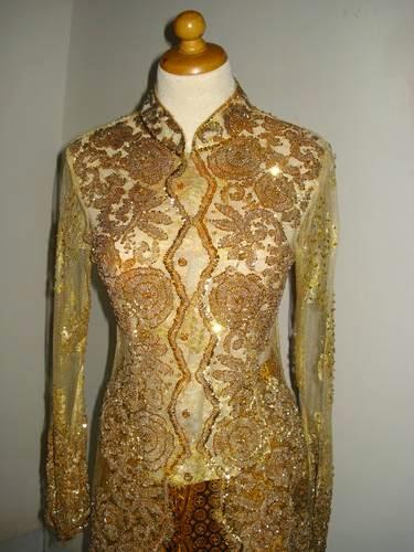 Foto Model Baju Kebaya Gold