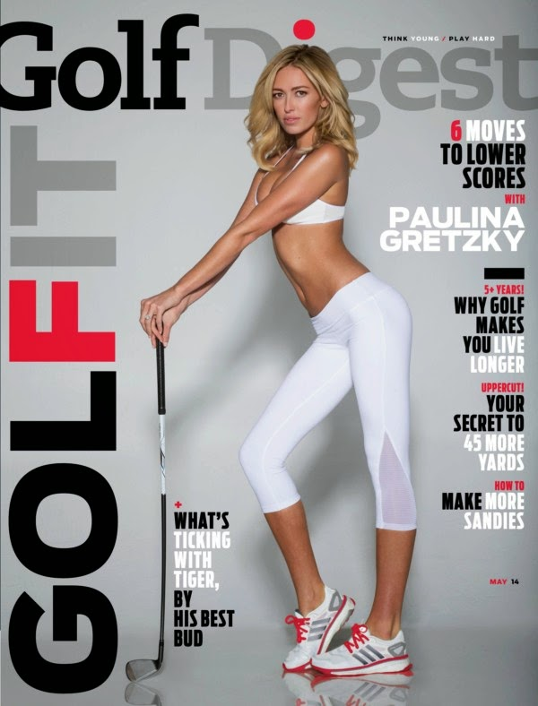 Paulina Gretzky, Golf Digest, Whorrified,