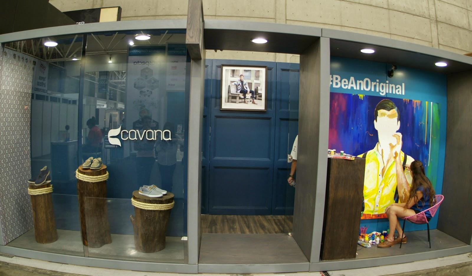 sapica agosto 2014, poliforum, exposición de calzado y artículos de piel, cavana