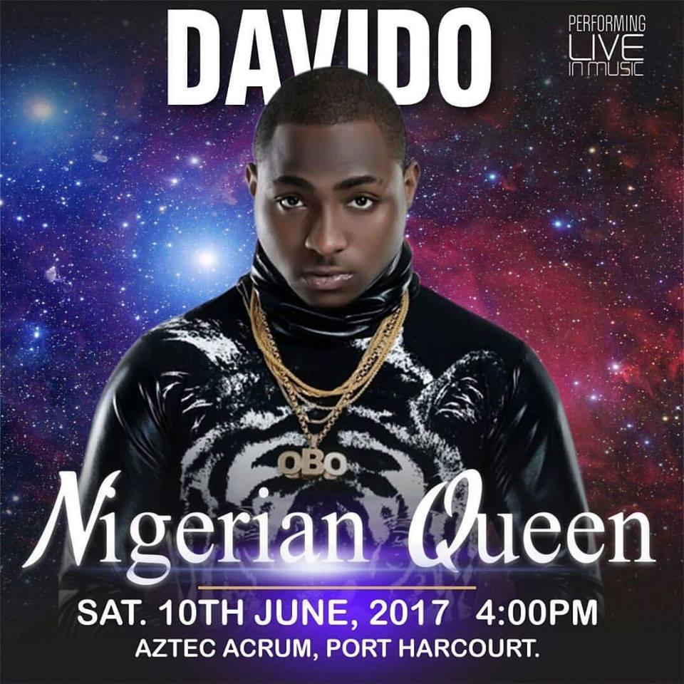 Davido, Funke Akindele, Styl Plus, Others To Headline 'the Nigerian Queen 2017'