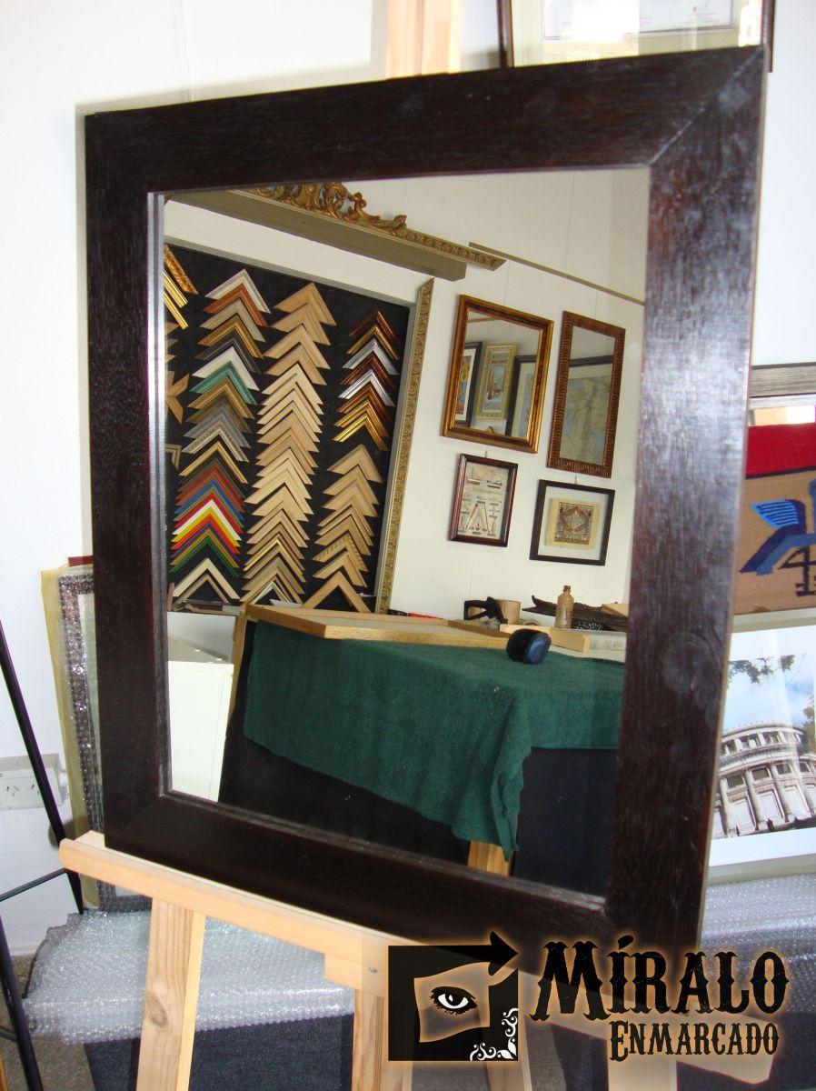 Marcos espejos modernos espejo moderno espejos de cristal for Marcos de espejos modernos