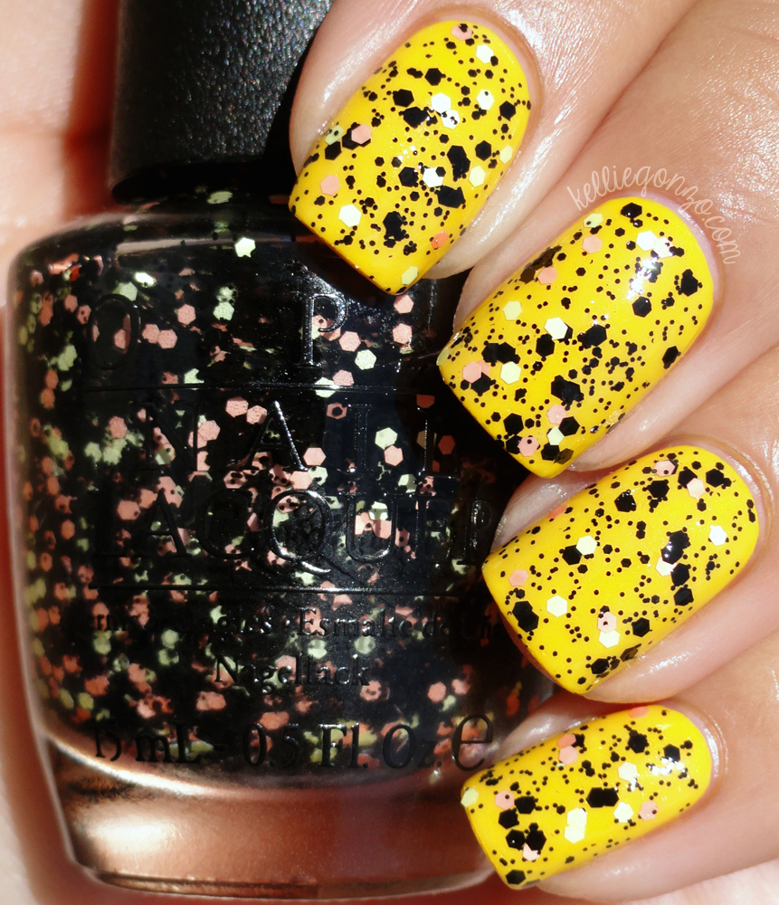 OPI - Where's My Blanket??? over Good Grief! // kelliegonzo.com