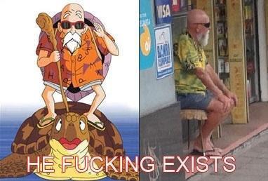 Mestre Kame existe!!!