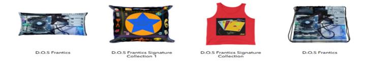 The D.O.S Frantics Store